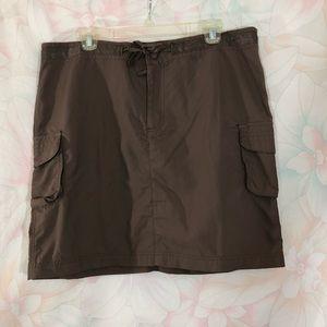 COLUMBIA Cargo Style Skirt L
